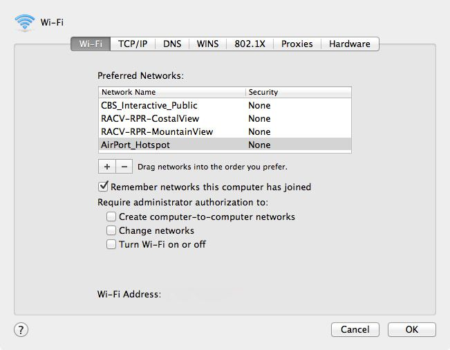 network-mac-names